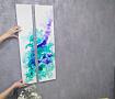 Картина интерьерная Бирюза диптих в Stranamasterov.by