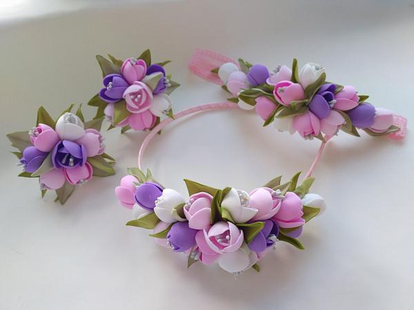 Ободок, повязка, резинки Весна в Stranamasterov.by