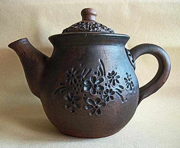 Чайник заварочный 500 мл Цветы в Stranamasterov.by