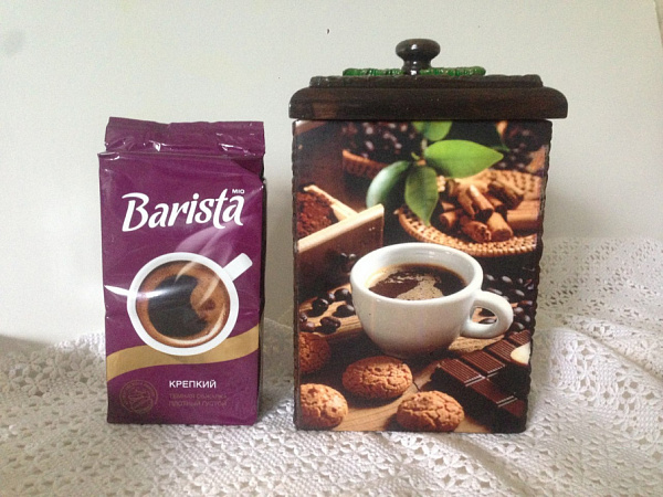 Заготовка короб для кофе Кофейный короб в Stranamasterov.by