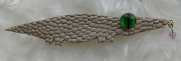 Брошь Крокодил 1 в Stranamasterov.by