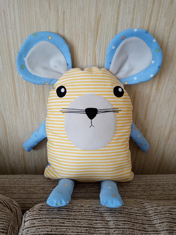 Подушка - мышонок Подушка - игрушка в Stranamasterov.by