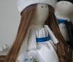 Интерьерные куклы Жених и Невеста ручной работы. Подарок на свадьбу. Вот что нужно дарить!