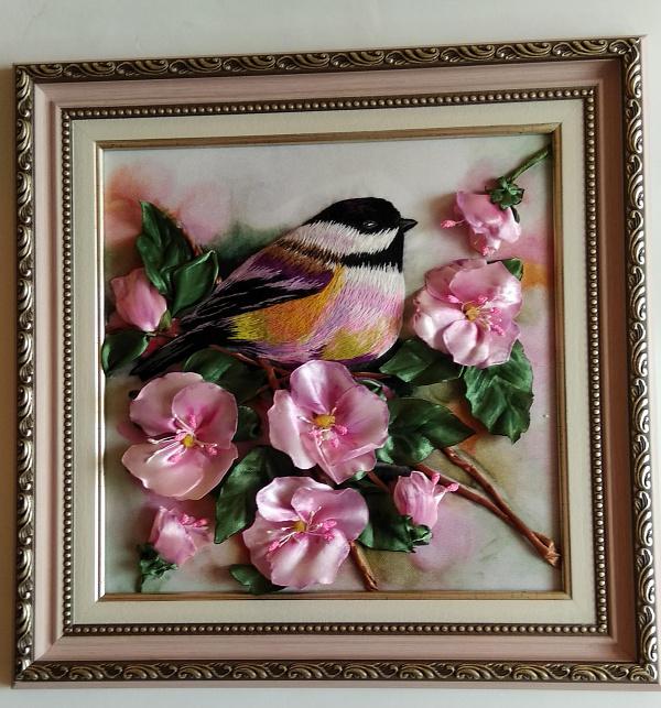 Картина Яблоневый цвет в Stranamasterov.by