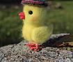 Валяная игрушка Цыплёнок в Stranamasterov.by
